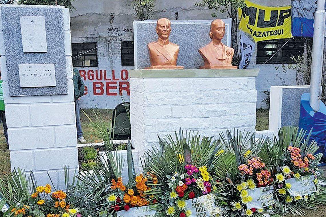 Berazategui: sentidos homenajes a Evita en toda la región