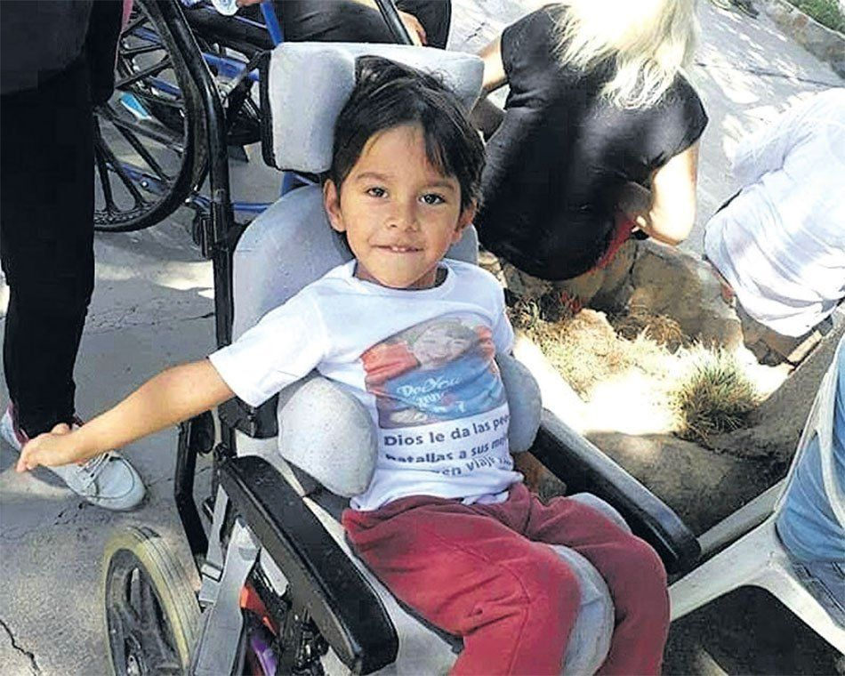 Quilmes: Valentino Silva sigue la batalla para poder vivir mejor