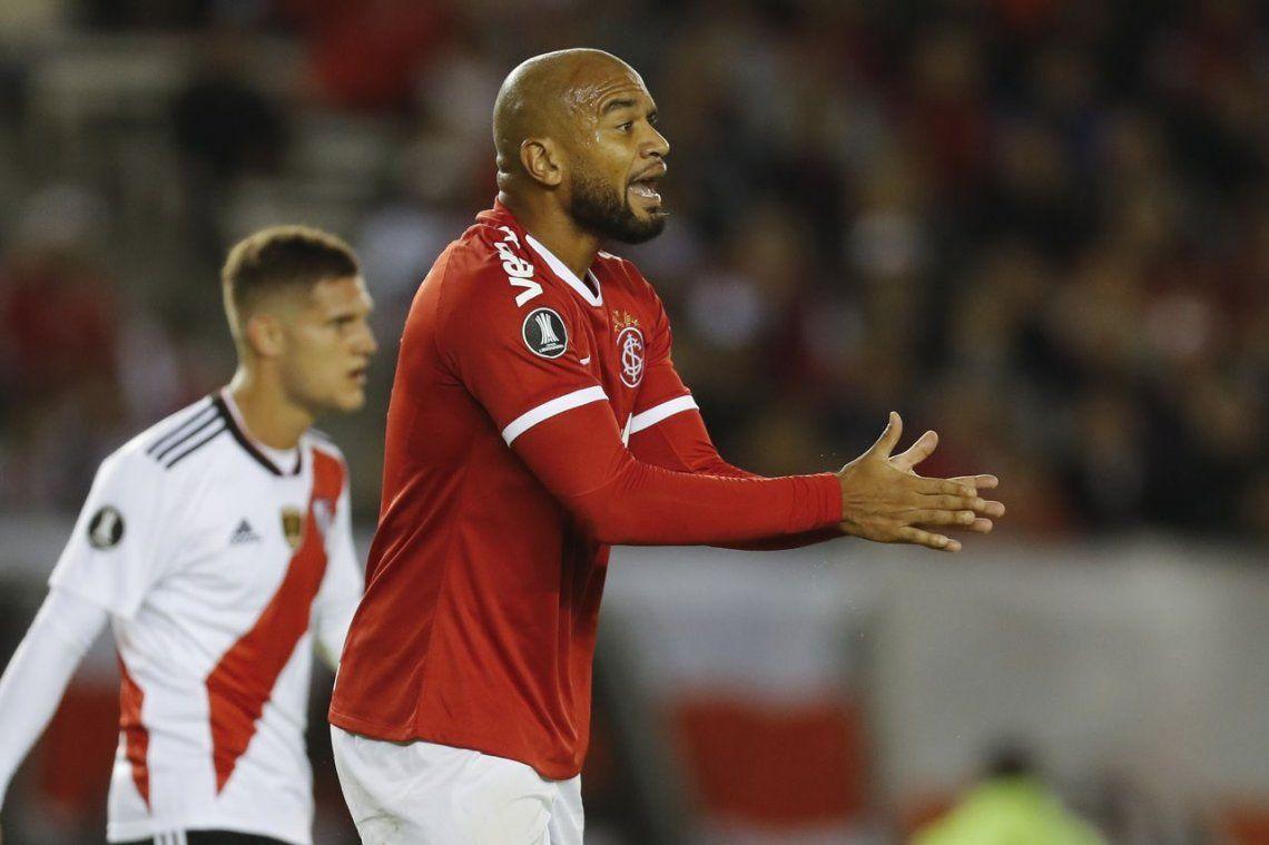Las fotos del agónico empate de River ante Internacional por la Copa Libertadores