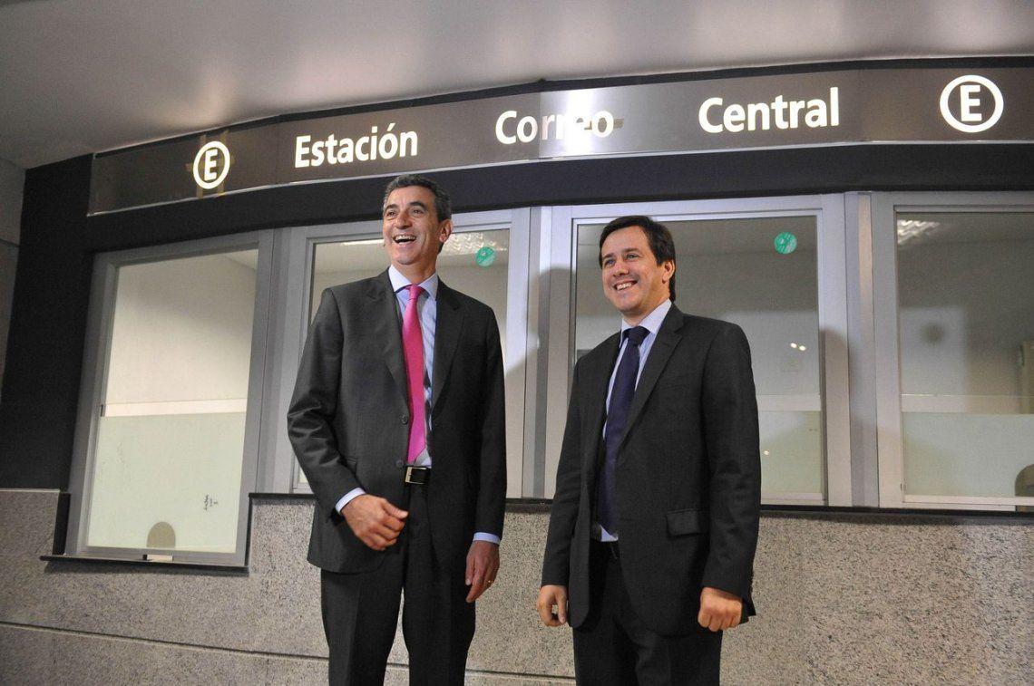 Randazzo y Recalde recorren las estaciones de la Línea E. 2.005.<br>