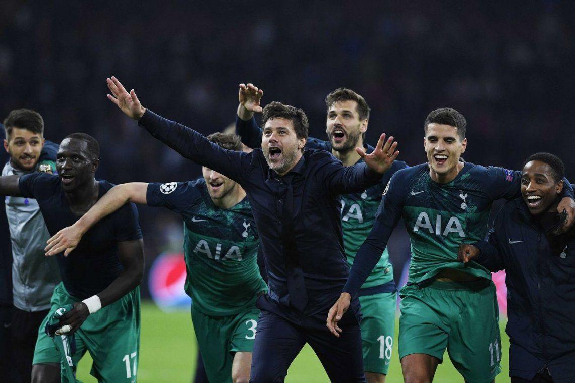 Champions League: el Tottenham de Pochettino, en un partido para el infarto, logró el milagro y se clasificó a la final en el último minuto