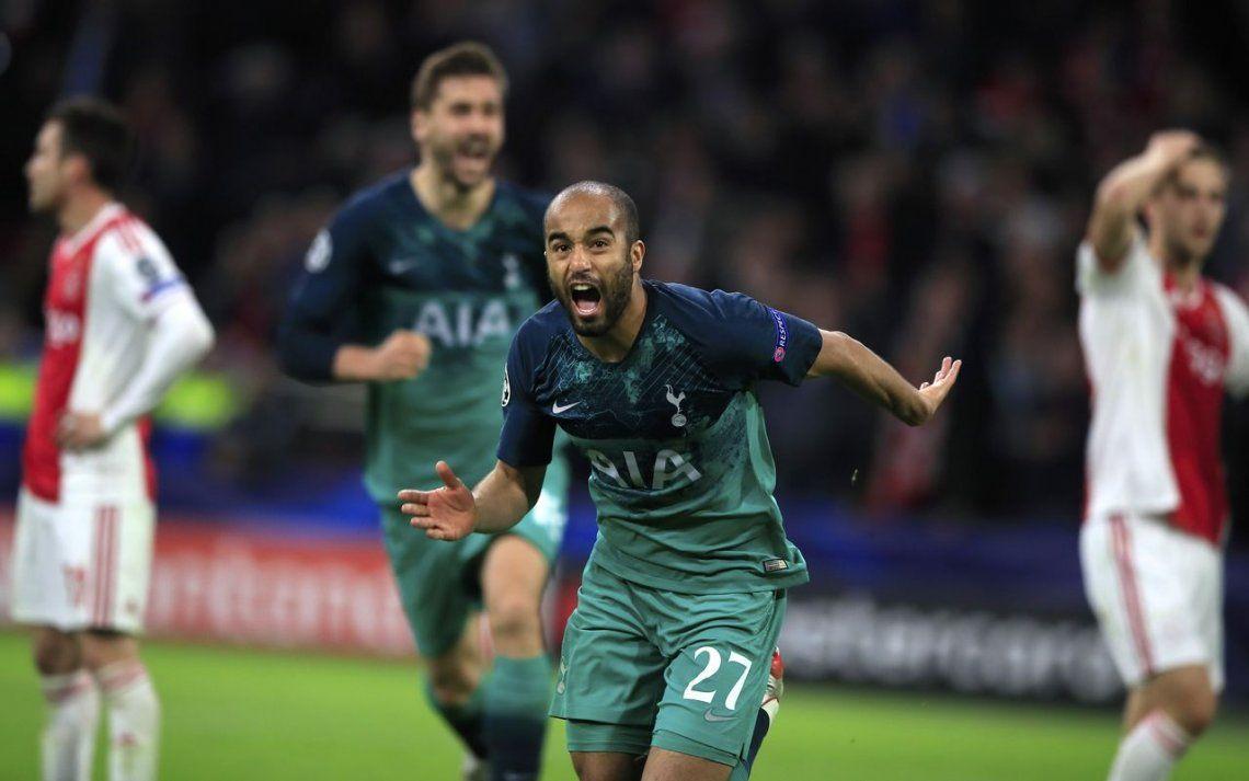 El gol de Lucas Moura que clasificó al Tottenham a la final de la Champions League