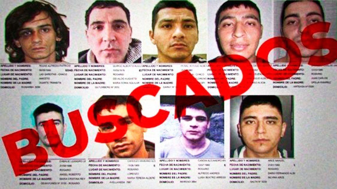 Santa Fe: quiénes son los presos que se escaparon en la autopista