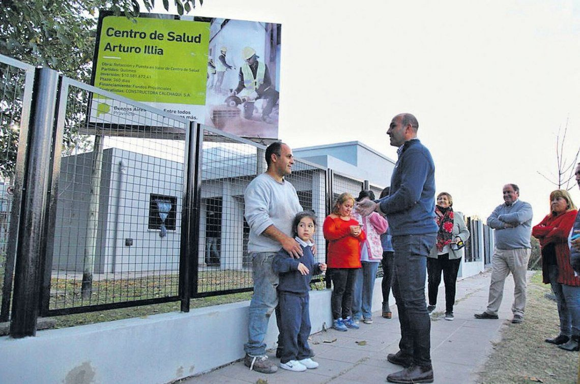 Quilmes: ampliaron el Centro de Salud Illia en Ezpeleta