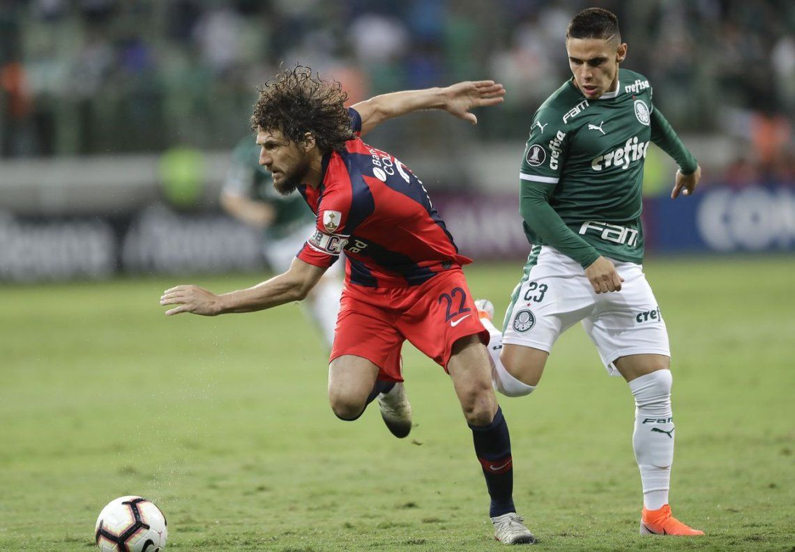 San Lorenzo volvió a pagar caro sus errores y cayó frente a Palmeiras por la Copa Libertadores