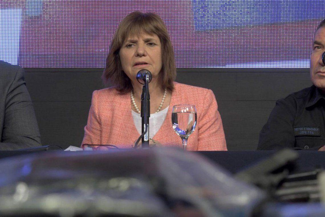 Patricia Bullrich aseguró que la fake news en la que fue involucrada está ligado a una causa por narcotráfico
