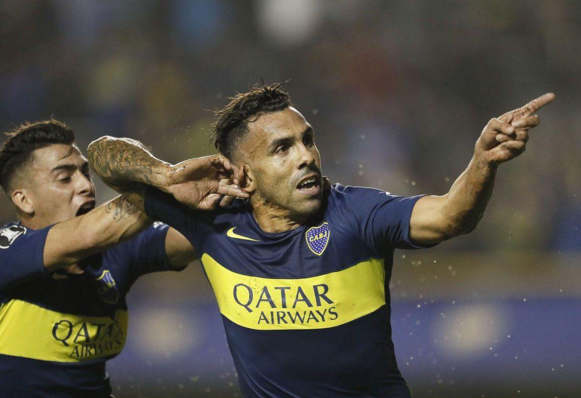 Con un Tevez inspirado y goleador, Boca le ganó a Atlético Paranaense y podría cruzarse con Riven en octavos