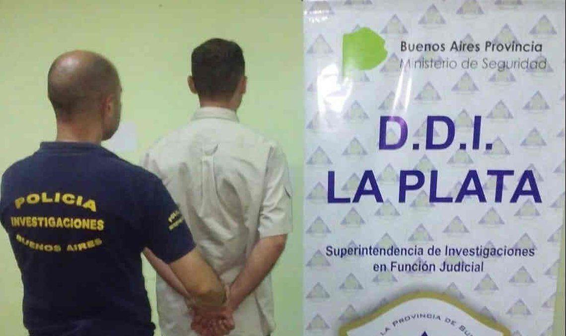 El sospechoso fue detenido en la ciudad de Mar del Plata.