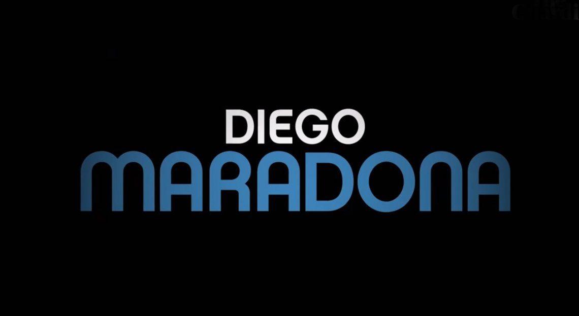 El espectacular trailer del documental sobre Maradona en Nápoli