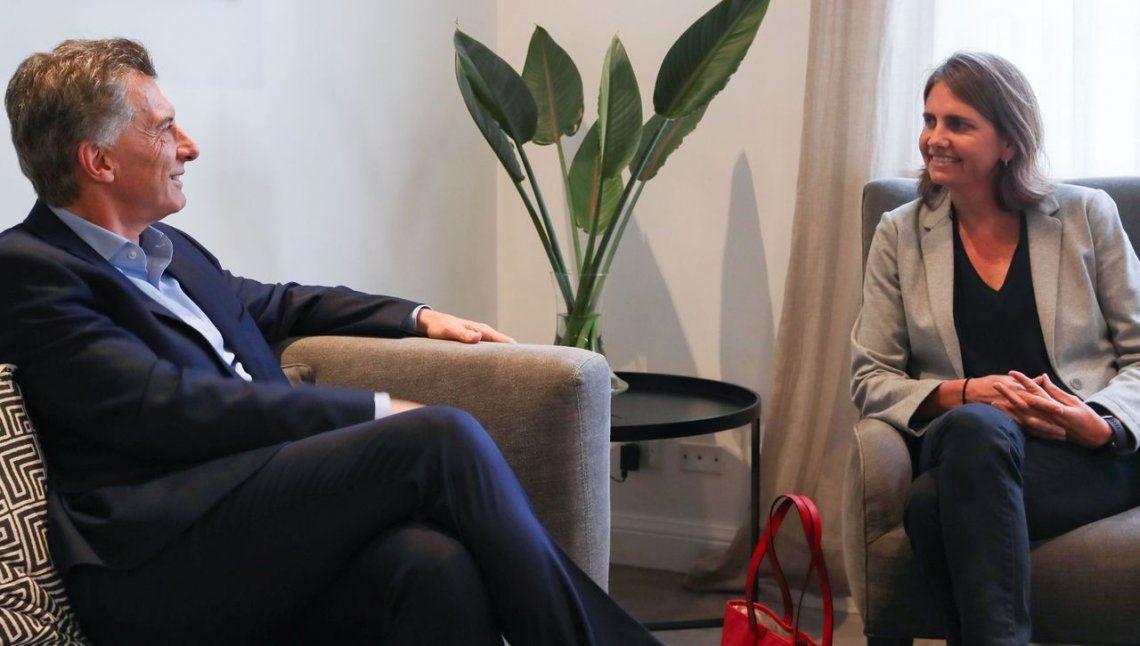 Macri recibió a Marina Simian, la científica del Conicet que ganó $500.000 en TV para su investigación