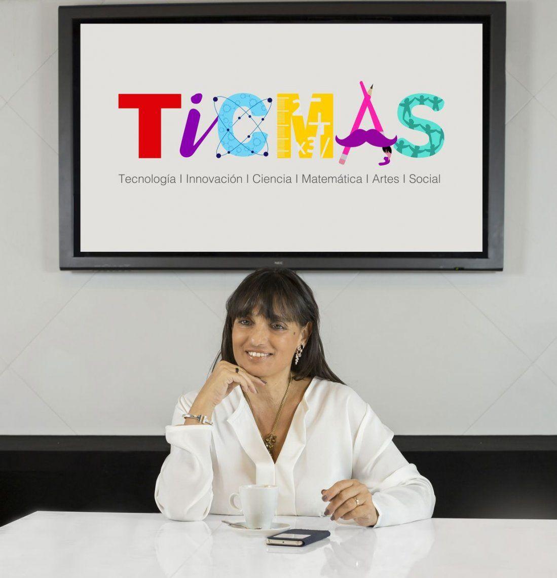 TICMAS, la innovadora plataforma educativa que se presentó en la Feria del Libro