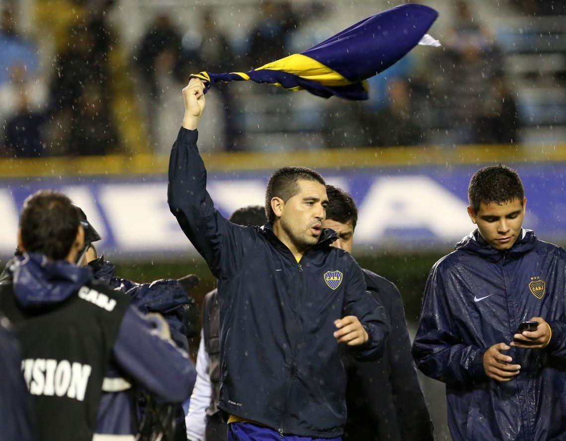 Juan Román Riquelme jugaba hace cinco años su último partido en Boca