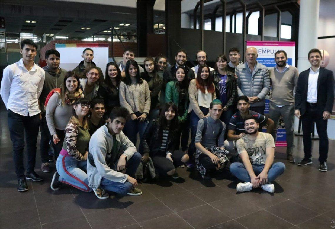 Lanús: Programa Empujar para jóvenes en 17 a 24 años