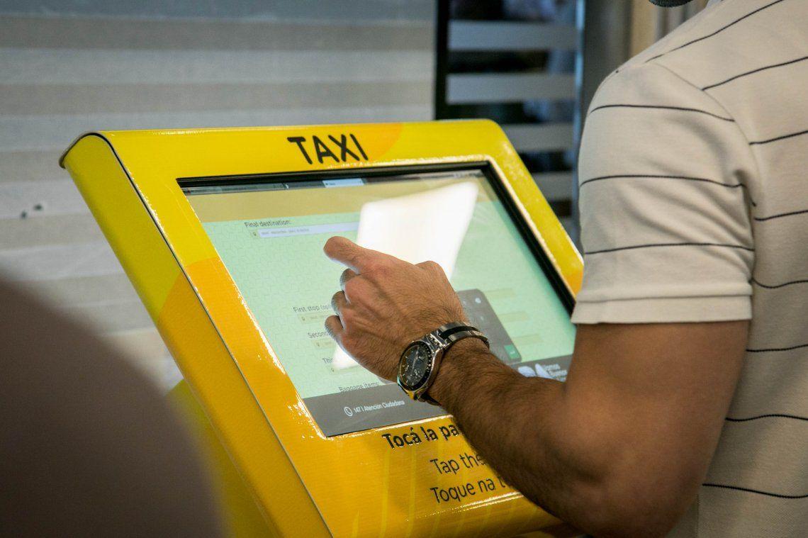 Taxis en Aeroparque: de qué se trata el Índice de Congestión