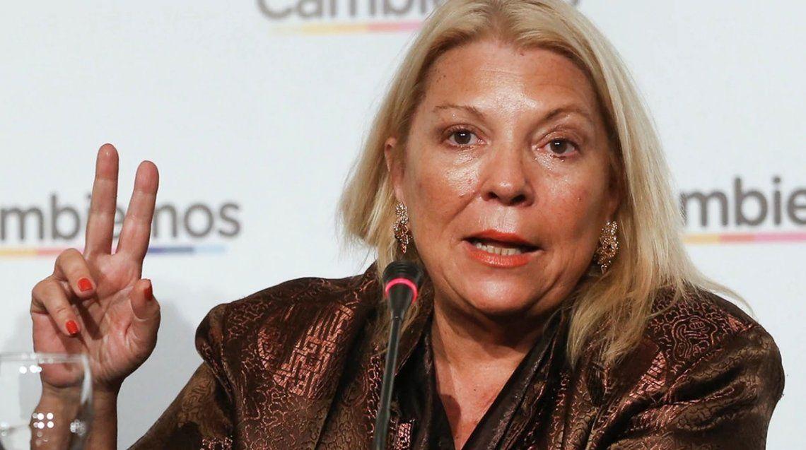 Elisa Carrió: La Coalición Cívica no forma ni formará parte de ningún pacto de impunidad