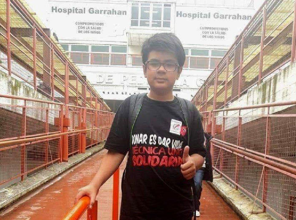 La Matanza: organizan un festival en González Catán para ayudar a Lautaro Mendiolar Colombo, un adolescente que necesita donante de médula ósea