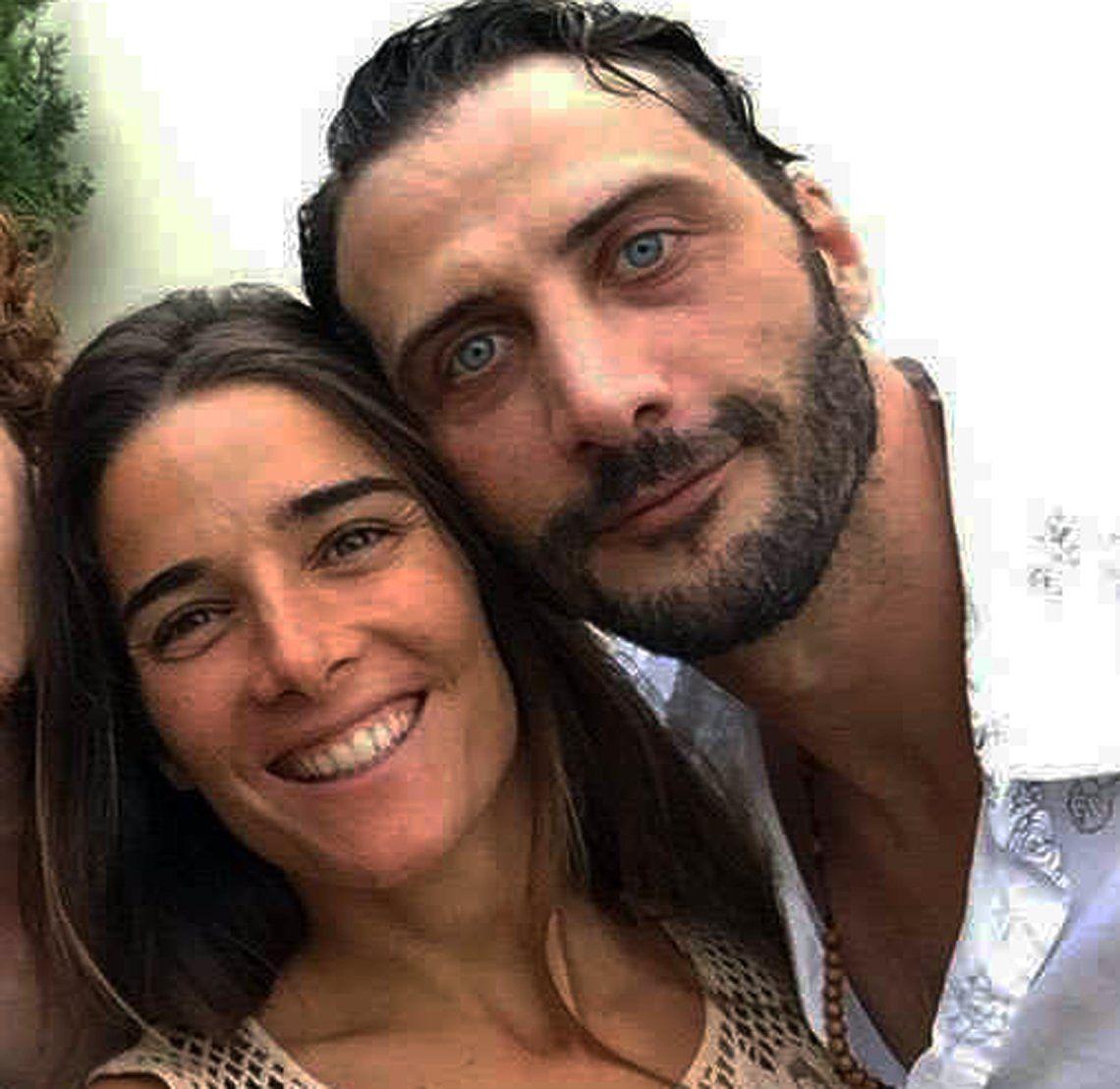 Juanita Viale y Luciano Cáceres juntos en México