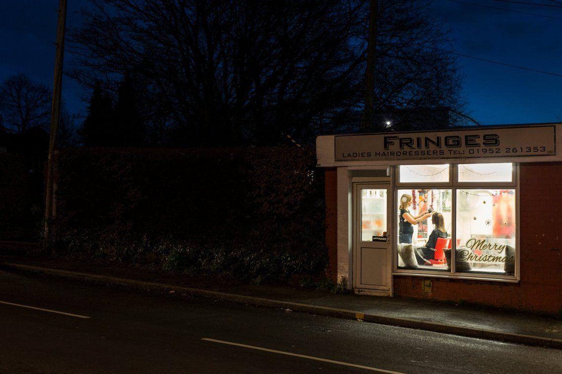 Fringes - Art on a Postcard