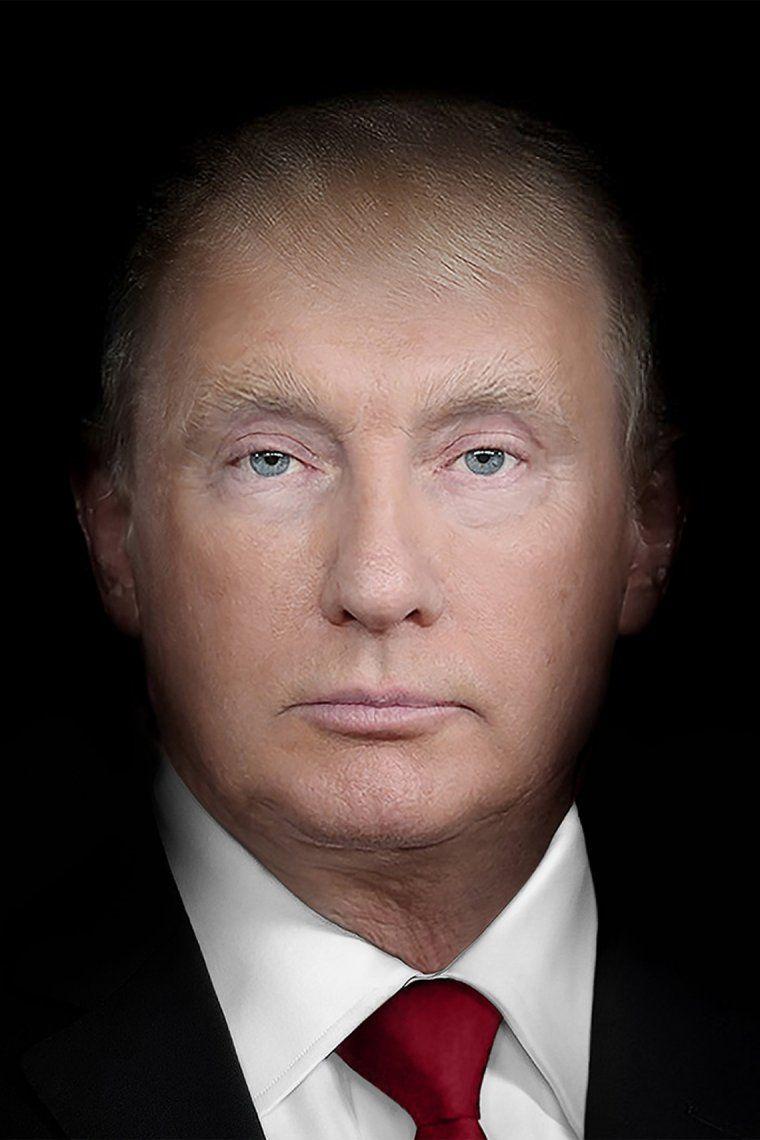 Trump-Putin - Art on a Postcard