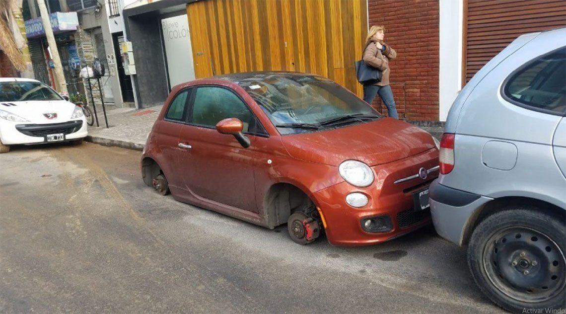 Quilmes: nuevos ataques de los robarruedas