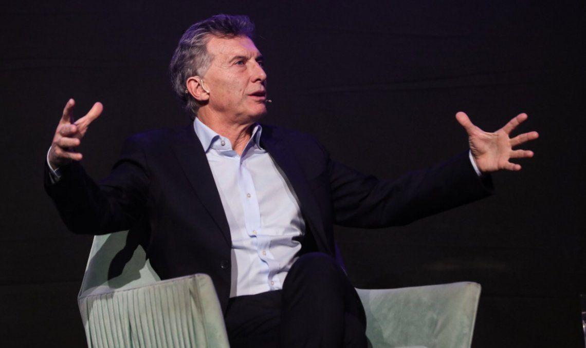 El presidente Mauricio Macri habló anoche en el cierre de la Experiencia Endeavor Buenos Aires 2019.