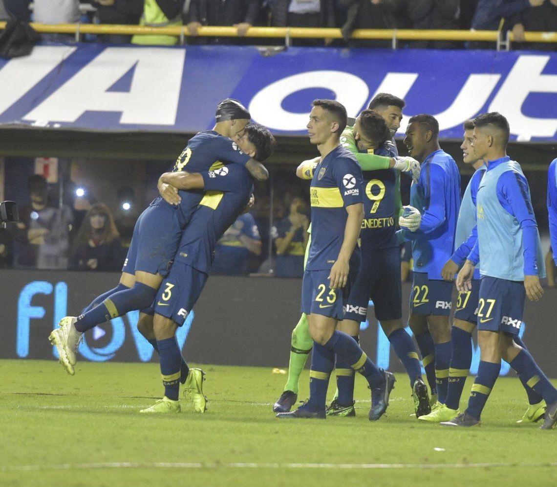 Las mejores fotos del triunfo de Boca ante Vélez