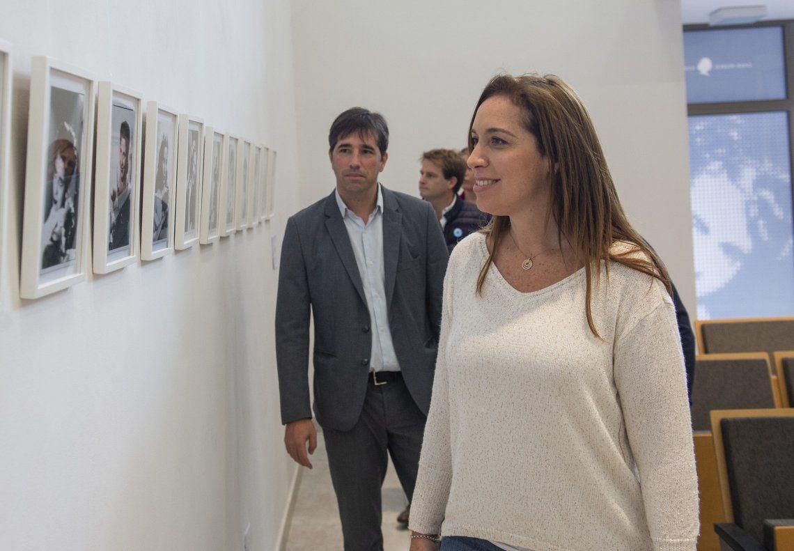 La gobernadora Vidal recorrió el Museo Casa Eva Perón.