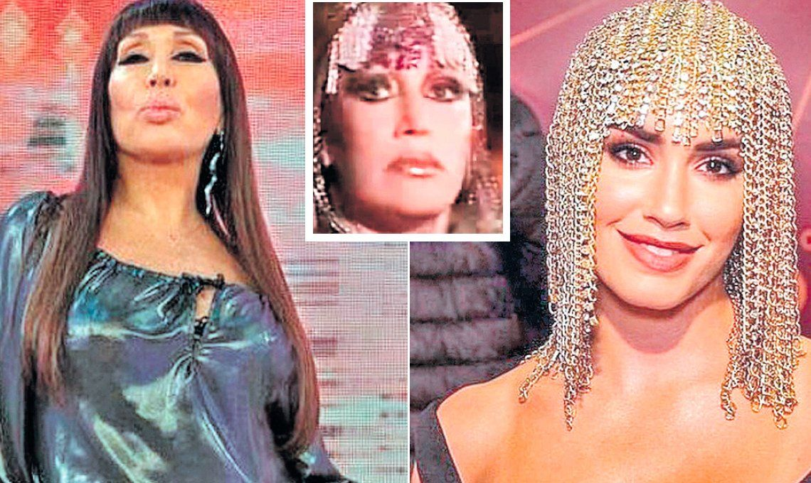 Moria Casán criticó a Lali Espósito por copiarle un peluca en los Premios Gardel