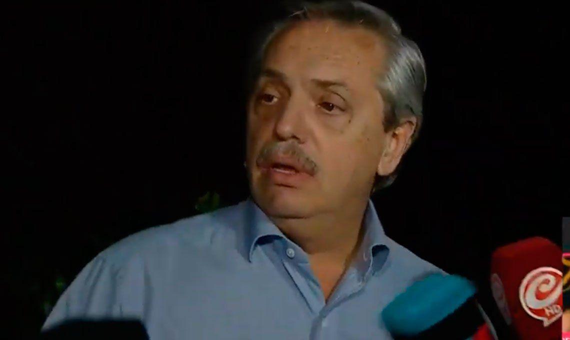 Alberto Fernández: Las circunstancias hicieron que terminara acá