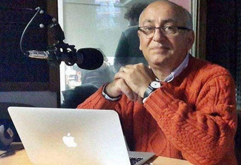 Viglione tenía un programa en la repetidora de Radio Mitre en Mar del Plata.