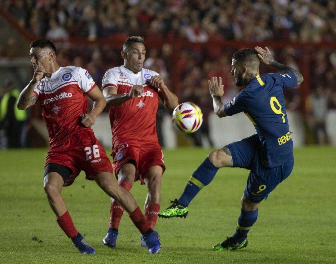 Pese a quedar en cero otra vez, Boca hizo negocio ante Argentinos
