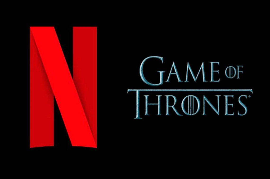 Hasta Netflix se prendió del final de Game of Thrones