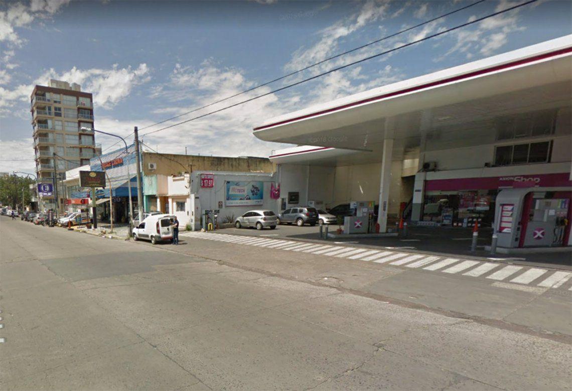Ciudadela: asalto a estación de servicio dejó cuatro personas heridas de bala