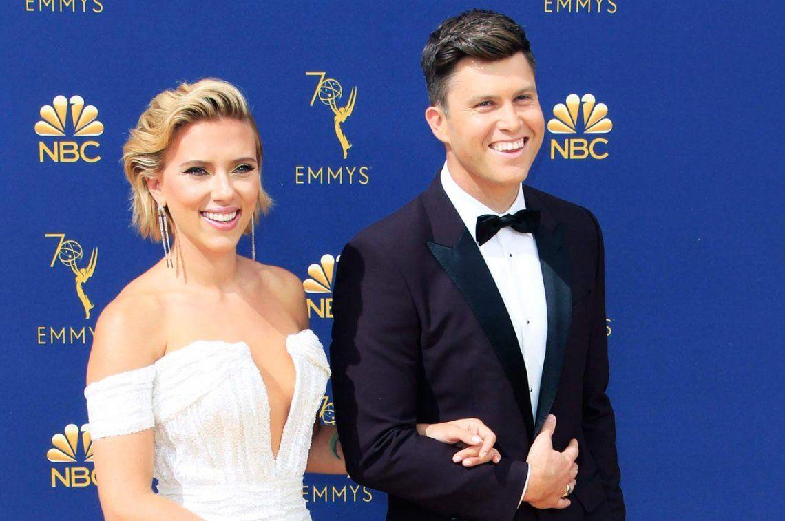 Scarlett Johansson se casará con su novio humorista