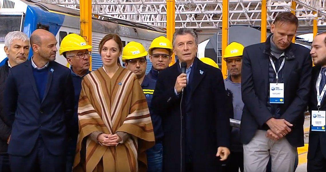 Macri se mostró con Vidal y dijo que aislados no progresamos