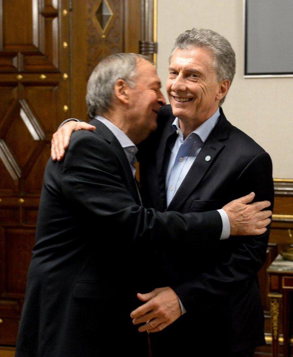 Macri se reunió con Schiaretti en Casa Rosada