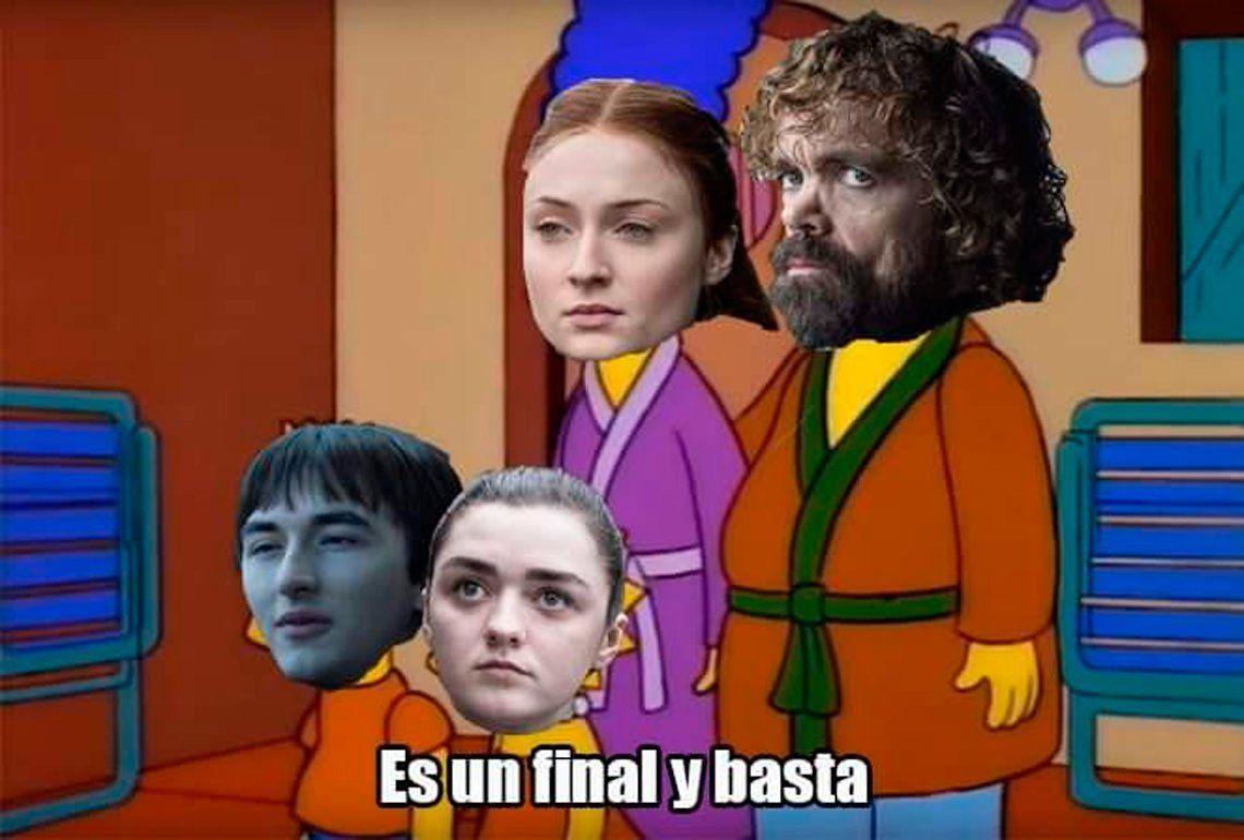 Game of Thrones: los memes sobre el decepcionante final no paran