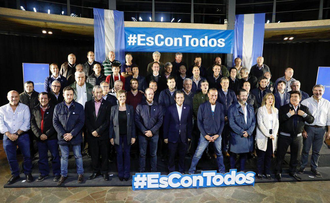 Los intendentes del PJ bonaerense se reunieron ayer en la localidad de Cañuelas para diseñar la estrategia electoral.
