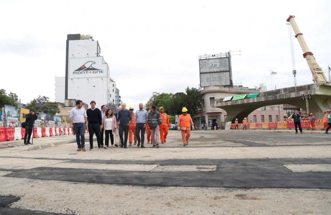 Reabre la avenida Juan B. Justo tras la demolición del puente