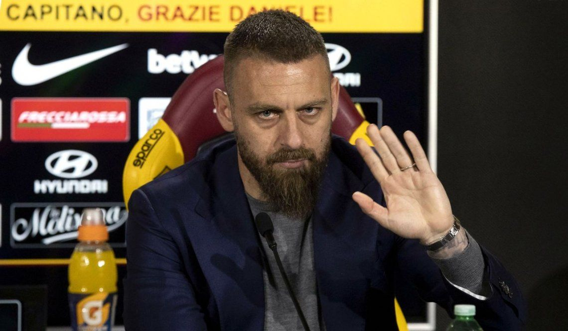 El plan de Boca para contratar a Daniele De Rossi