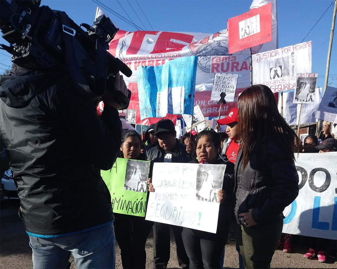 Florencio Varela: fuerte reclamo por el crimen de Roxana Coro León