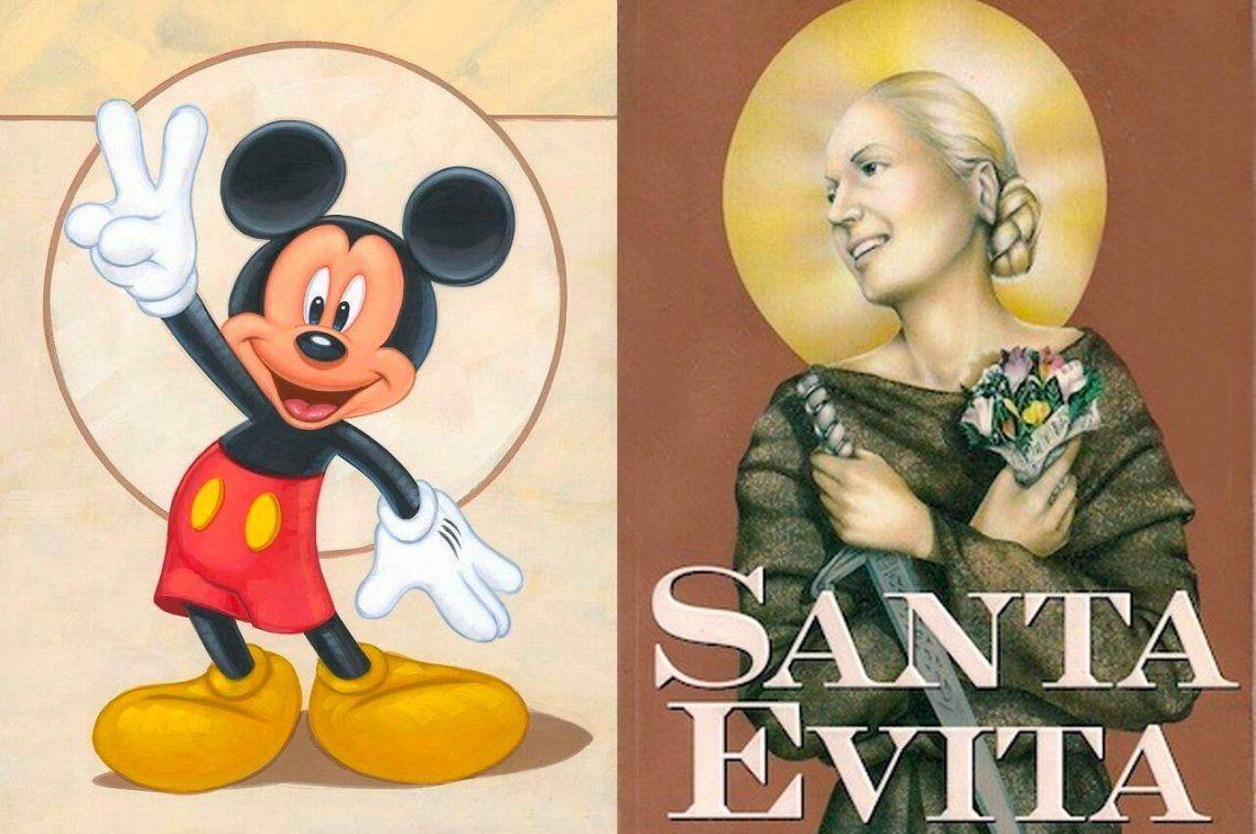 Con Salma Hayek y Disney en la producción, llega la serie de Santa Evita