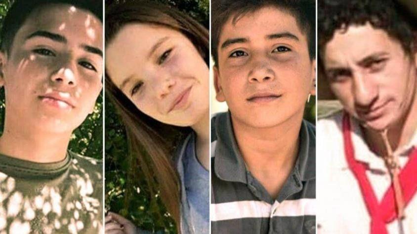 San Miguel del Monte: quiénes eran los cuatro jóvenes que murieron tras la persecución policial