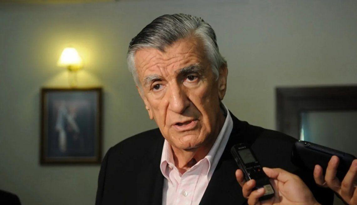 José Luis Gioja cuestionó a Mauricio Macri porque no se hace responsable de nada
