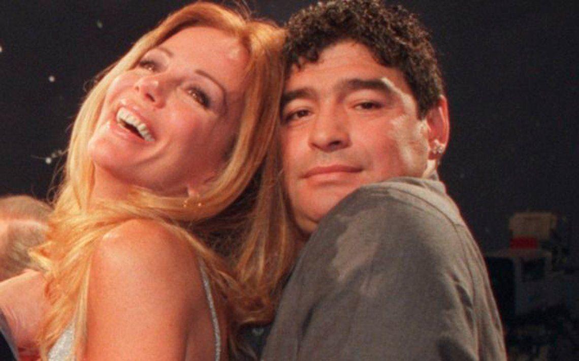 Graciela Alfano reveló como fueron sus noches de pasión con Diego Maradona: Me lo comí fue brutal