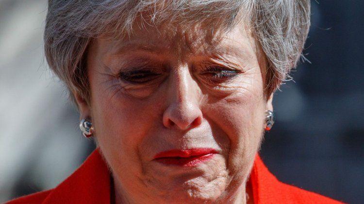 La primera ministra Theresa May anunció que renunciará en junio