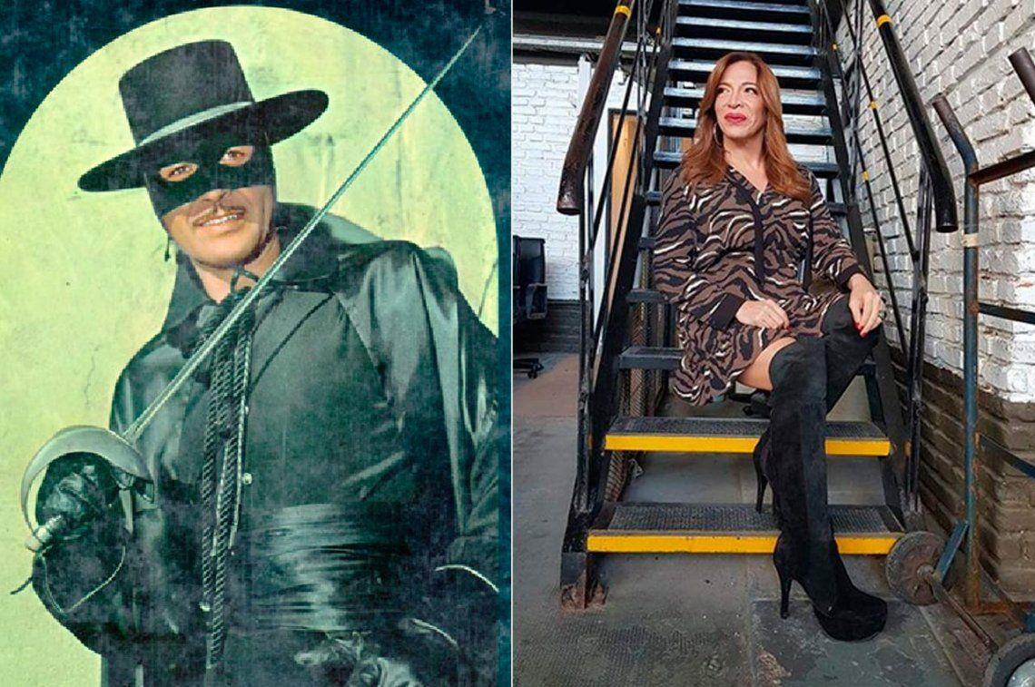El Zorro encontró un rival en el rating: Lizzy Tagliani