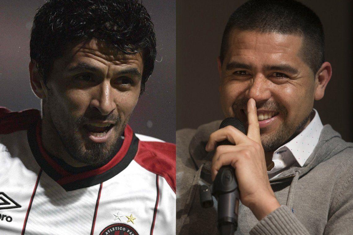 El ex River Lucho González le puso Román a su hijo por amor a Riquelme