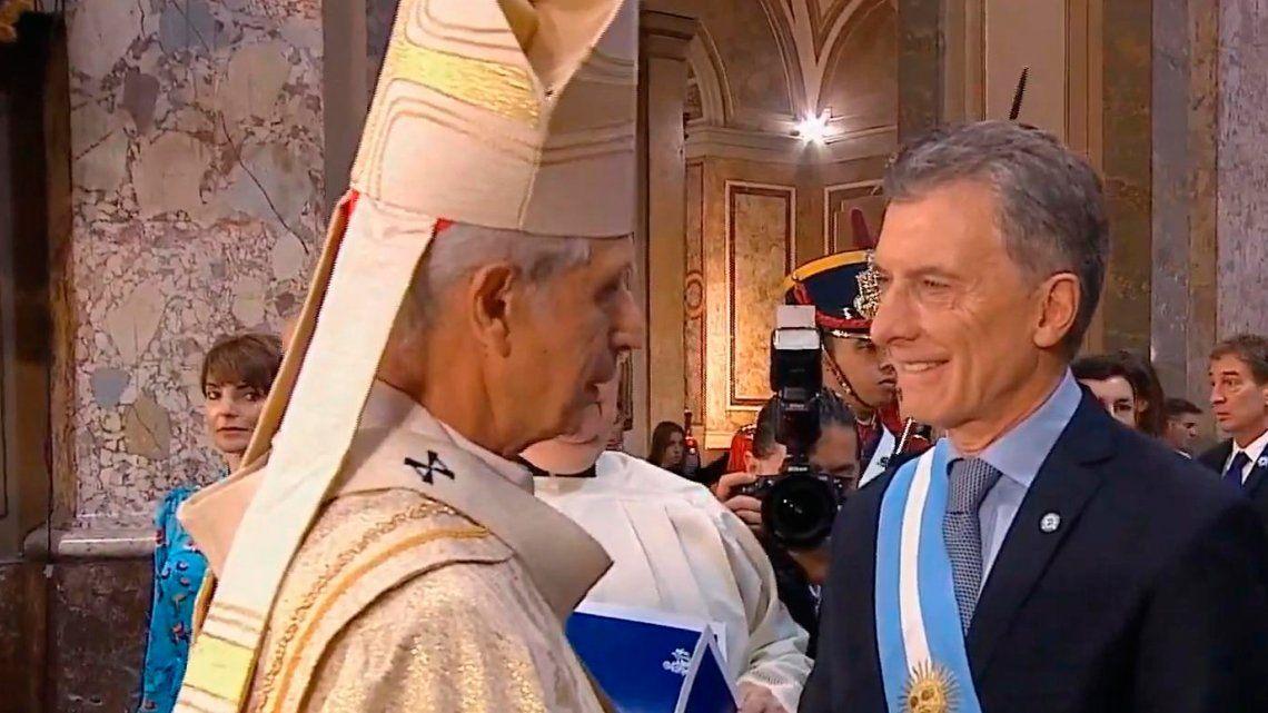 Tedeum: el cardenal Poli pidió ir a un gran pacto nacional