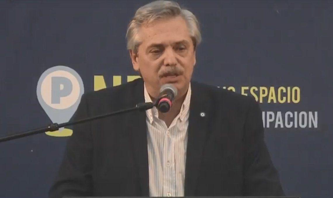 Alberto Fernández encabezó un acto en Ferro a 16 años de la asunción de Néstor Kirchner: La improvisación es el arte del macrismo